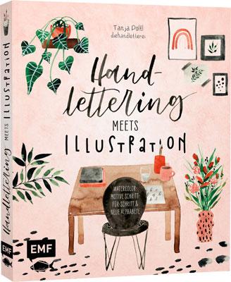 """Buch """"Handlettering meets Illustration"""" von Tanja Pöltl"""